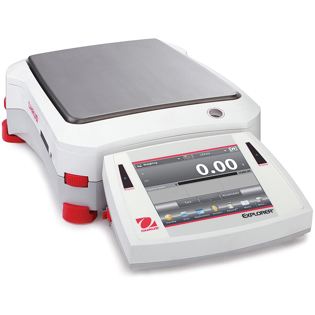 Ohaus® Explorer® Precision Balances (Readability up to 1 mg)