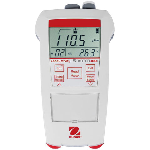 Ohaus® Starter 300C Portable Conductivity Meters