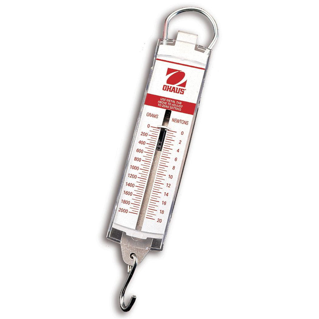 Ohaus® Spring Scales (Readability up to 0.25 oz)