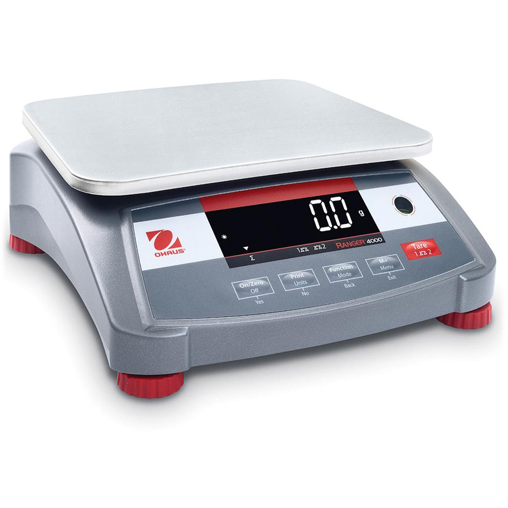 Ohaus® Ranger® 4000 Bench Scales (Readability up to 0.0002 lb)