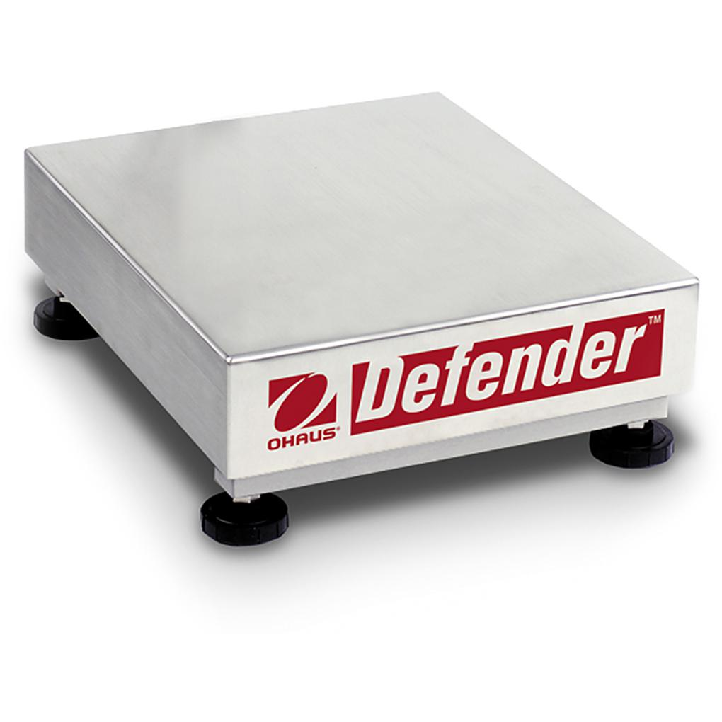 Ohaus® Defender® V Series Stainless Steel Bases (Readability up to 0.005 lb)