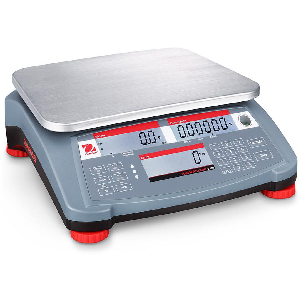 Ohaus® Ranger® Count 3000 Counting Scales (Readability up to 0.0001 lb)