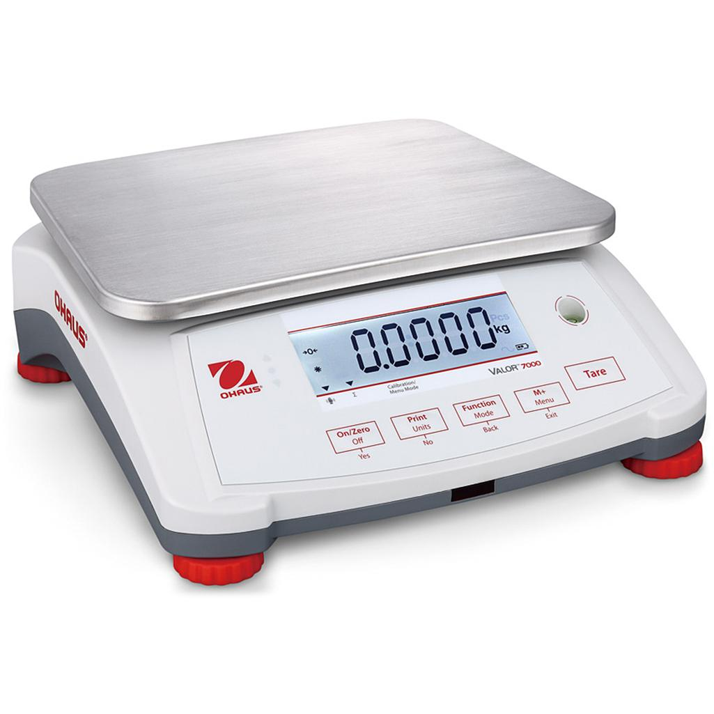 Ohaus® Valor® 7000 Legal for Trade Food Scales (Readability up to 0.0005 lb)