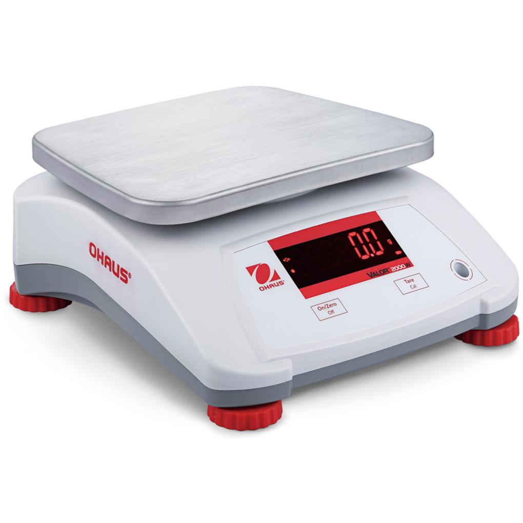 Ohaus® Valor® 2000 Food Scales (Readability up to 0.0005 lb)