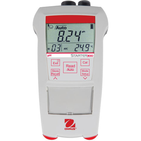 Ohaus® Starter 300 Portable pH Meters