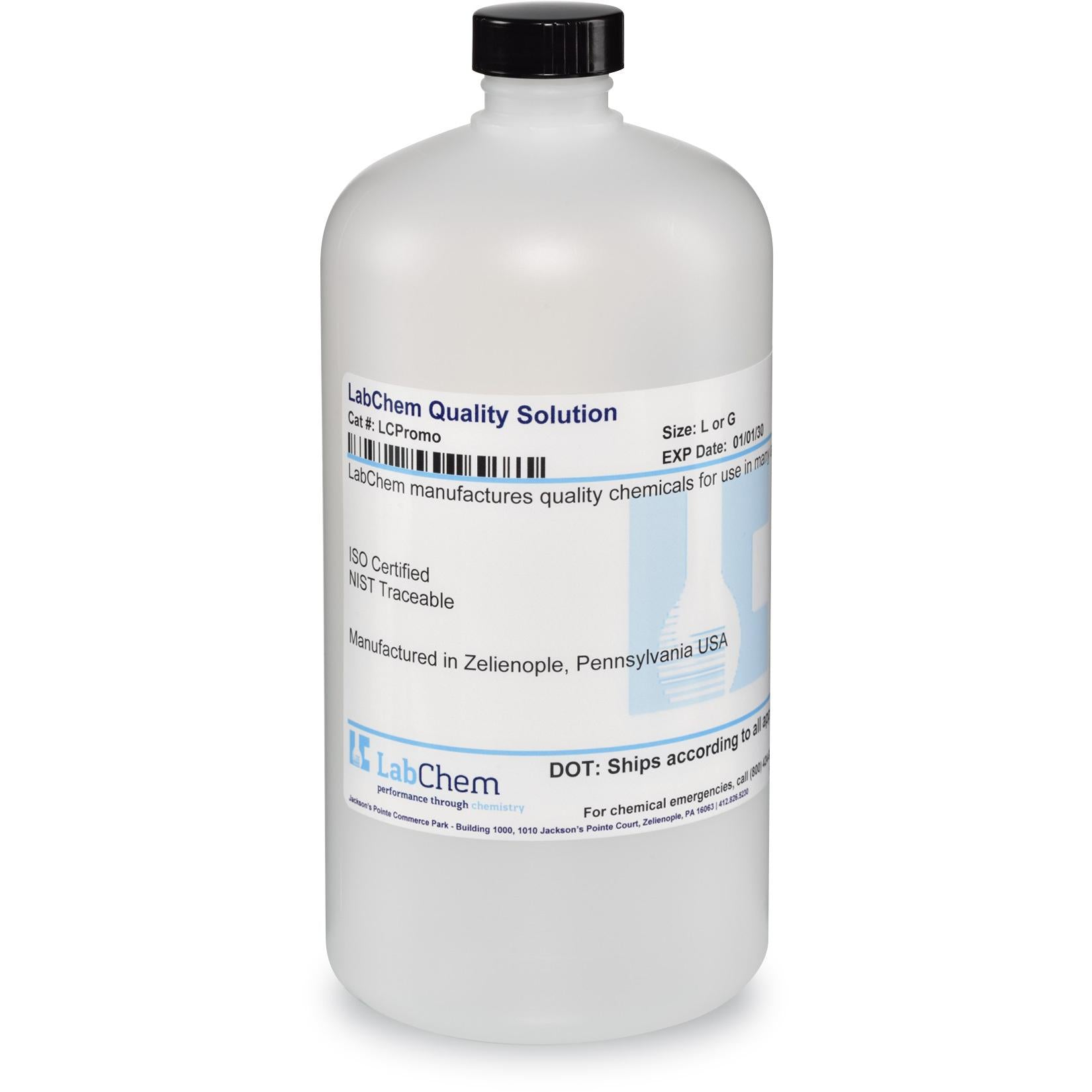 Calcium Chloride, 2.75% w/v, for BOD