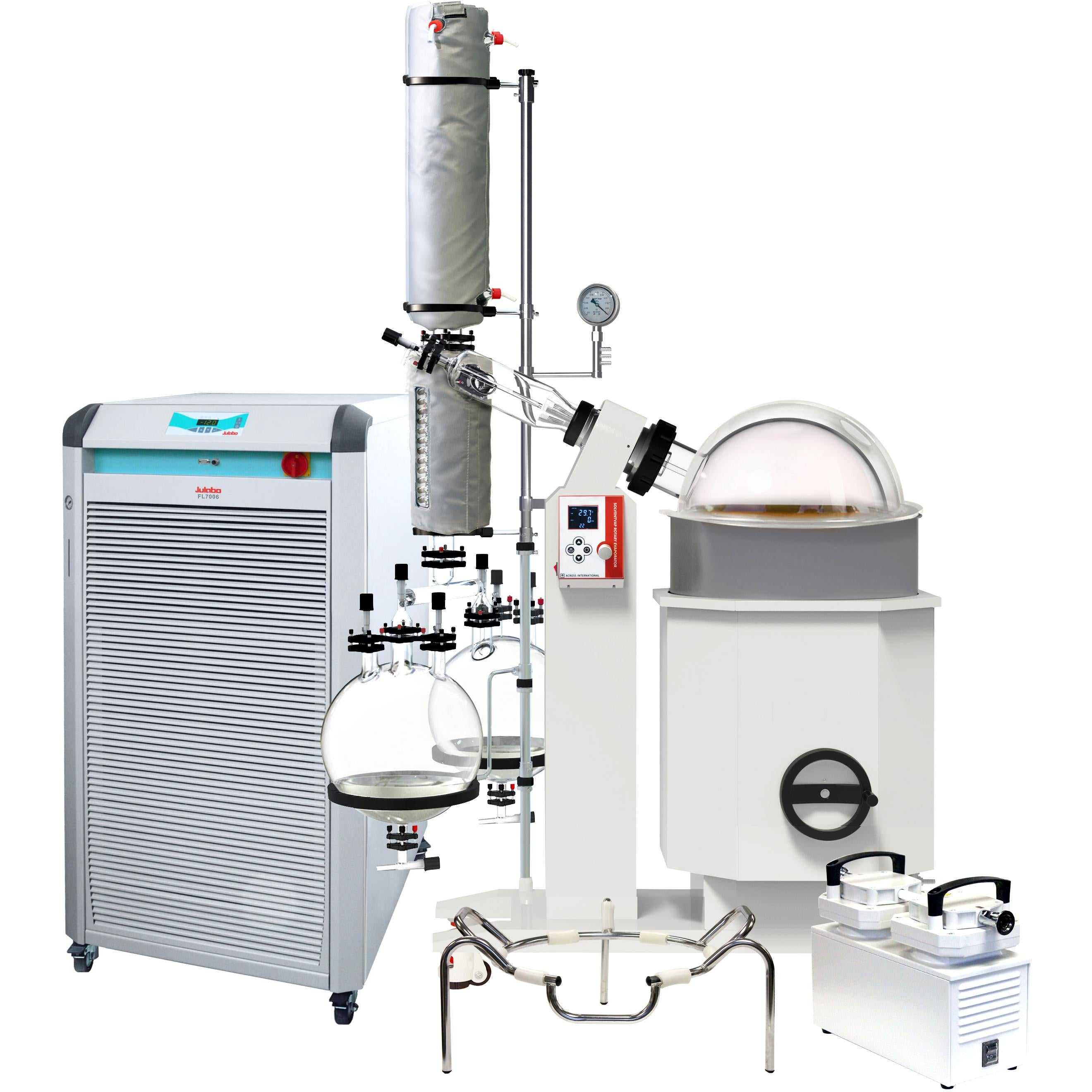 Ai SolventVap 50L Rotary Evaporator, Turnkey, with Julabo Chiller and ULVAC Pump