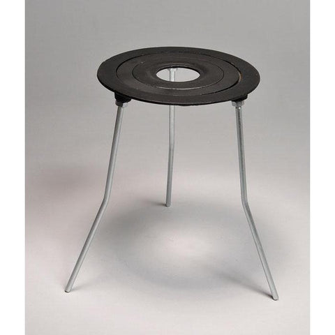 Tripod Stands with Concentric Rings, Cast Iron