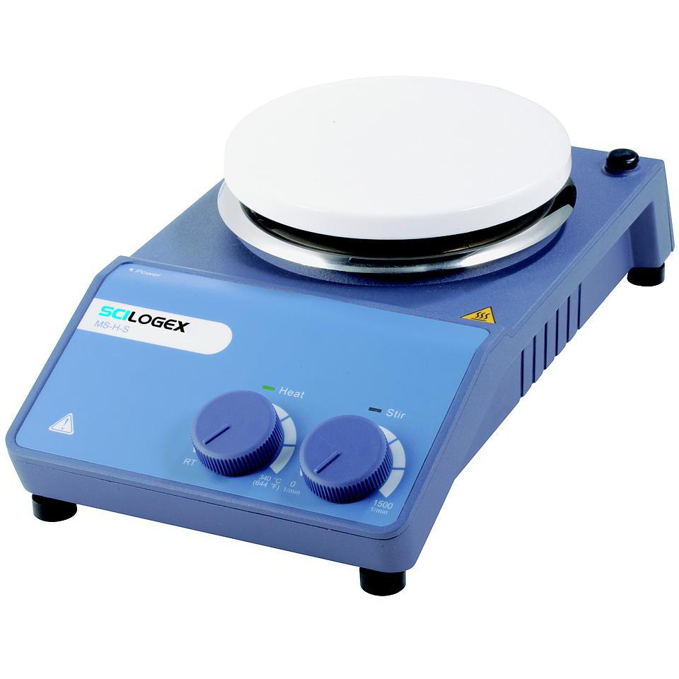 Scilogex MS-H-S Circular-top Analog Hotplate Stirrer