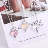 Crystals from Swarovski Heart Pendant Necklace