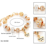 """I Love You"" Bead Bracelet"