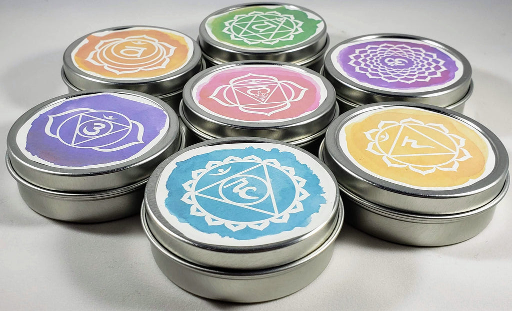Set of all 7 Chakra Healing Balms