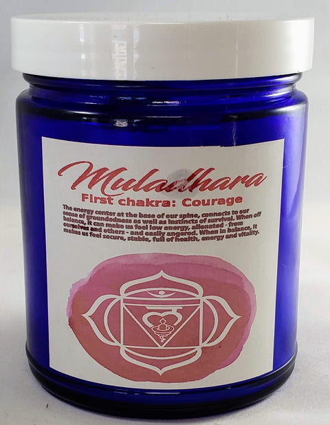 Cobalt Root Chakra Candle