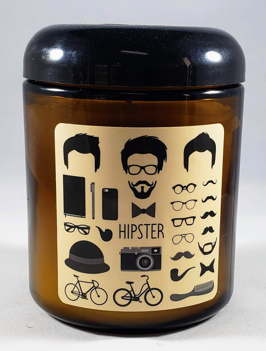 The Hipster Candle