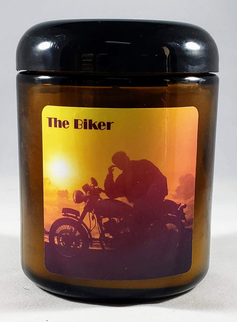 The Biker Candle