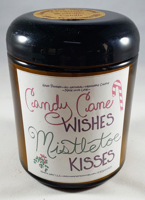 Candy Cane Wishes Body Candle