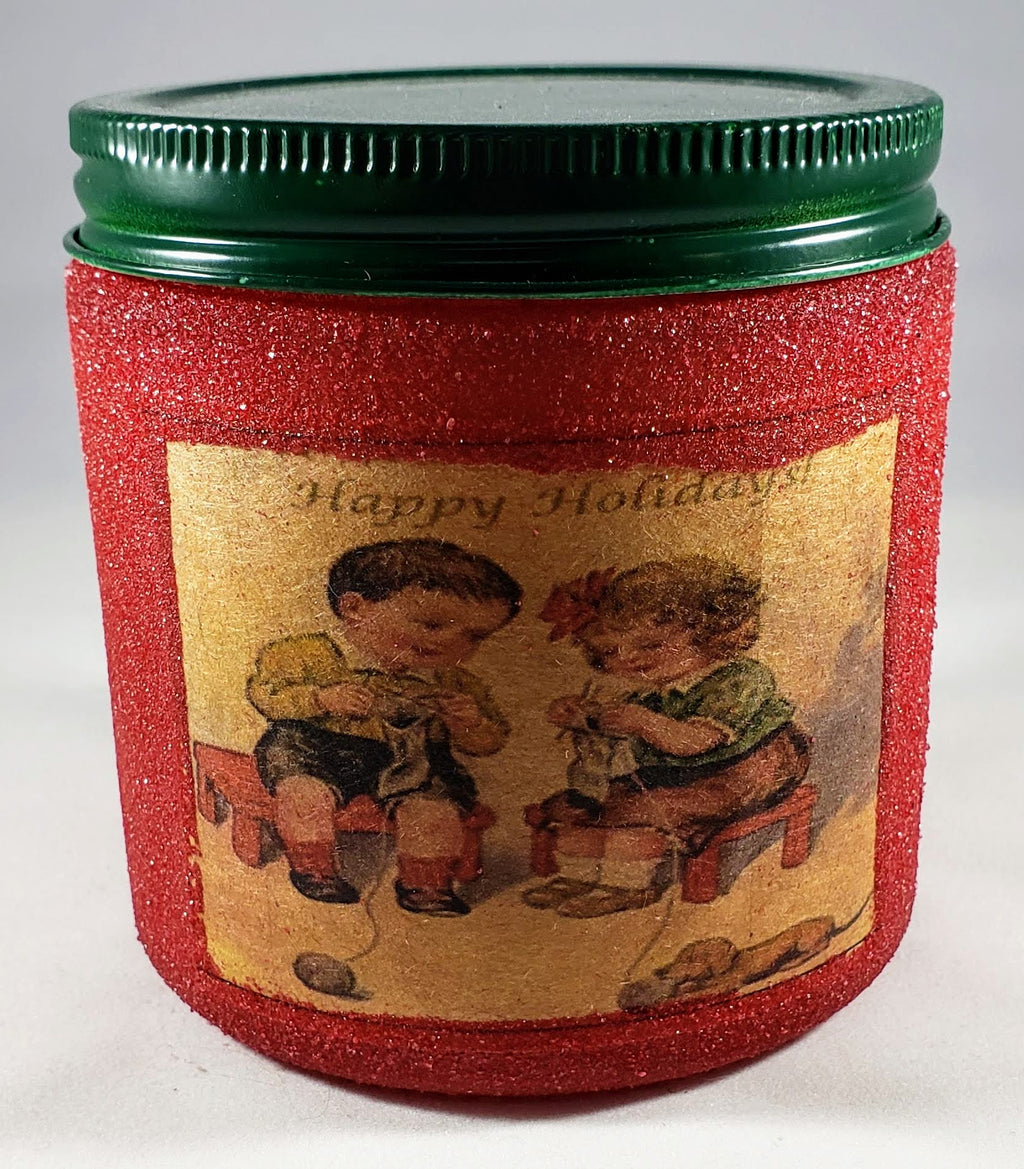 Homespun Holidays Candle