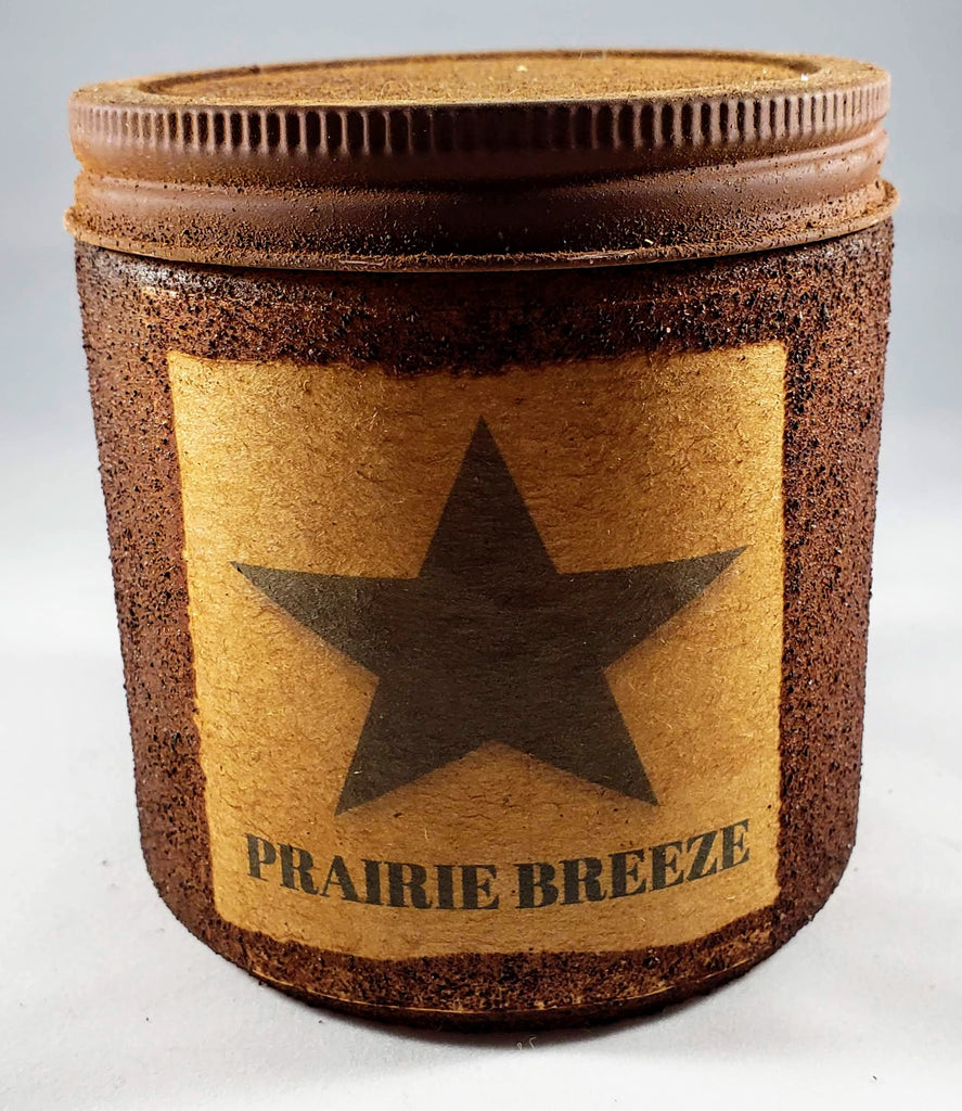 Prairie Breeze Primitive Candle