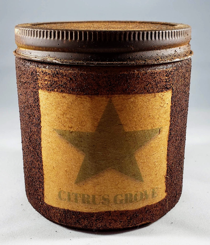 Citrus Grove Primitive Candle