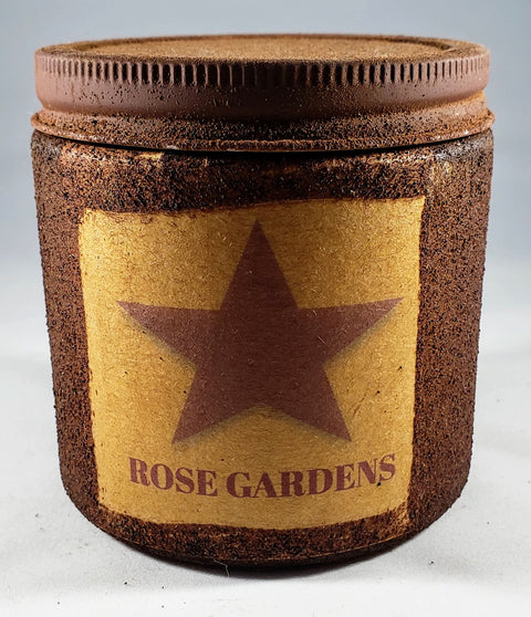 Rose Gardens Primitive Candle