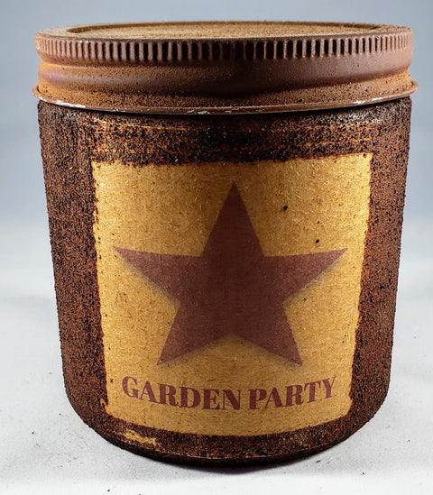 Garden Party Primitive Candle