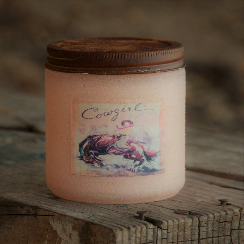 Cowgirl Candle