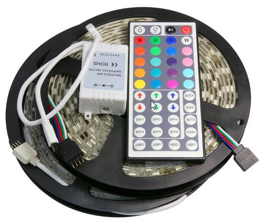 RGB LED Strip with Remote