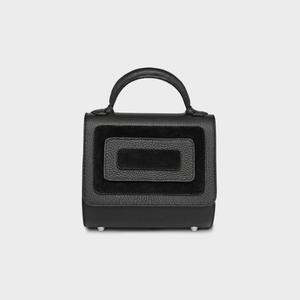 """Escalet"" Mini Malabar Bag in Black - ARCAL STUDIO Edition."
