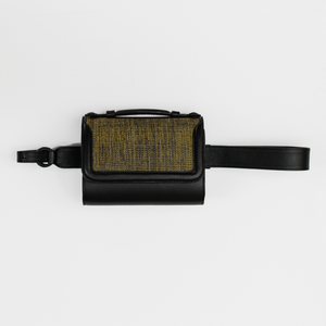 Guinea Belt bag - Black & Gold