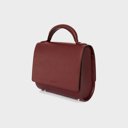 Burgundy Malabar Bag - Canvas Edition