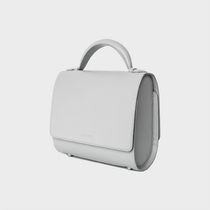 Chalk Gray Malabar Bag - Canvas Edition