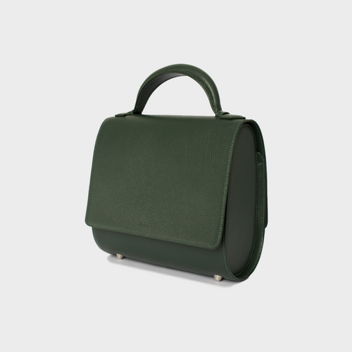 Hunter Green Malabar Bag - Canvas Edition