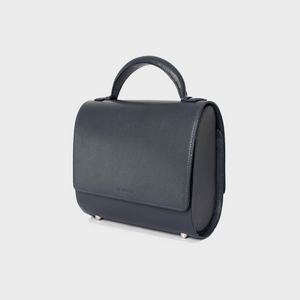 Navy Blue Malabar Bag - Canvas Edition
