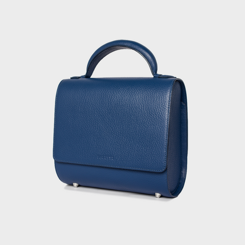 Royal Blue Malabar Bag - Canvas Edition