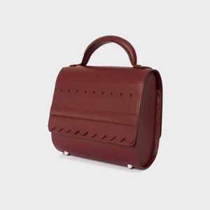 Burgundy Malabar Bag - Oxford Edition