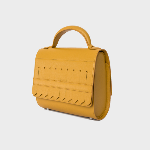 Yellow Ochre Malabar Bag - Oxford Edition