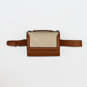 Iraca Belt bag - Camel