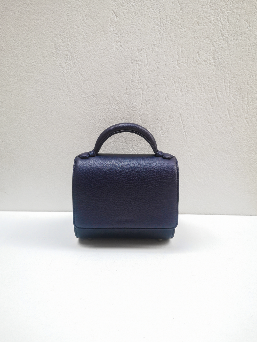 Canvas Mini Malabar Bag - Navy Blue
