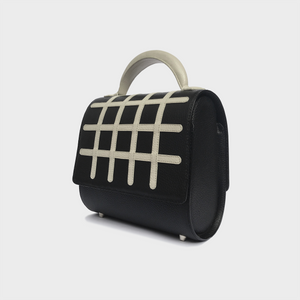 Grid Malabar Bag -  Black, Special Edition