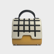 Grid Malabar Bag -  White/Yellow, Special Edition