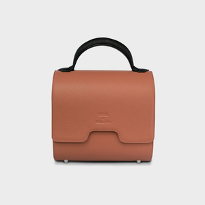 """Perspective"" Malabar Bag in Samon - ARCAL STUDIO Edition."