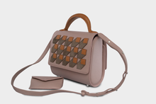 """Perspective"" Mini Malabar Bag in Taupe - ARCAL STUDIO Edition."