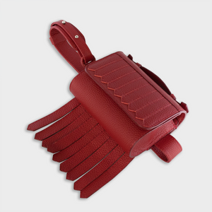 """BANG"" Belt Bag in Red - ARCAL STUDIO Edition."