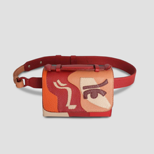 Siena Belt bag, Red - CHEZNICOLETTE Edition