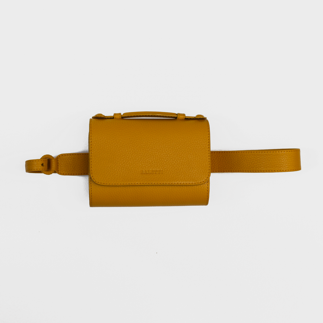 Canvas Belt bag - Yellow