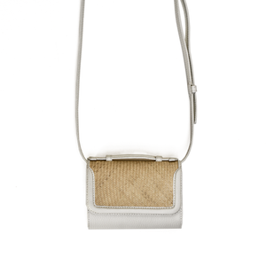 Iraca Belt bag - Offwhite