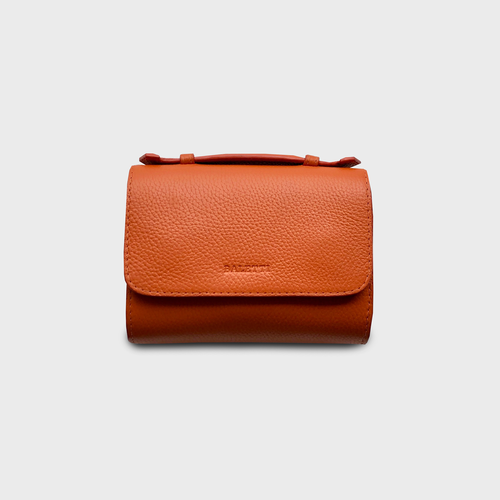 Canvas orange ochre belt bag