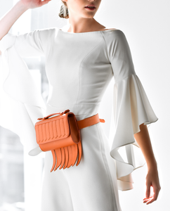 """BANG"" Belt Bag in Orange - ARCAL STUDIO Edition."