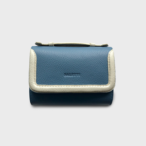Cocacolo Hamptons blue belt bag