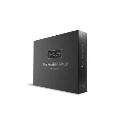 The Revision Ritual Limited Edition Trial Regimen Kit. Box Front
